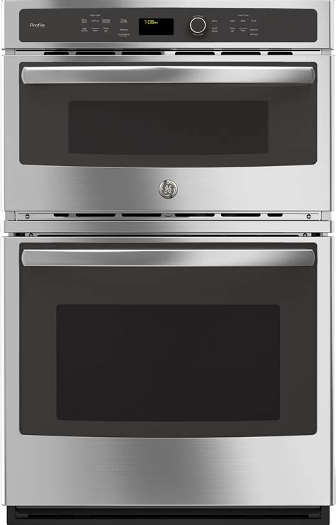 ge pkskss   combination electric wall oven   total cu ft capacity true