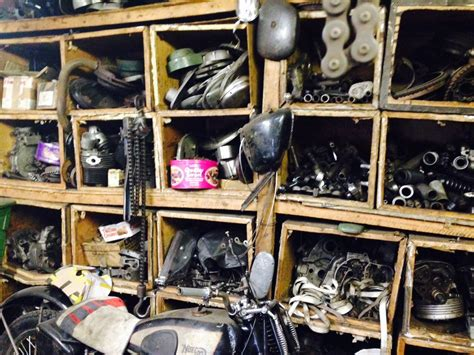 Motorcycle Spares And Parts