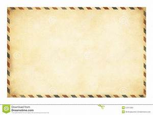 Old Postcard Template With Clipping Path Included Stock ...