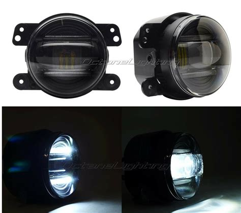 Led Fog Lights by 4 Quot Led Drl Fog Light L 2005 2011 Chrysler 300 Pt