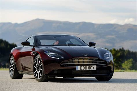 aston martin db11 looks in deep wine carscoops com