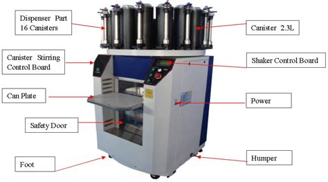 color tinting machine computerized paint mixer automatic coating shaker with concrete
