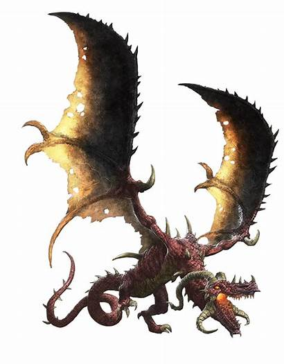 Drake Flame Pathfinder Creature 2e Fire Monsters