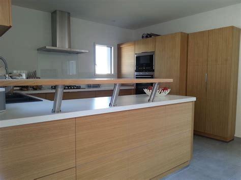cuisine en et blanc cuisine sur mesure ebèniste fabrication de cuisine sur