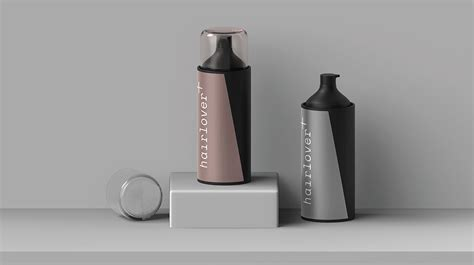 You can purchase this mockup on yellow. Free Hairlover Spray Bottle Mockup | Mockuptree