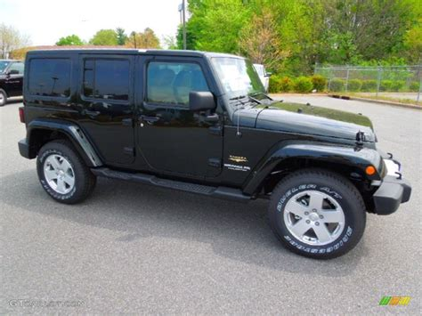 jeep sahara black 2012 black forest green pearl jeep wrangler unlimited