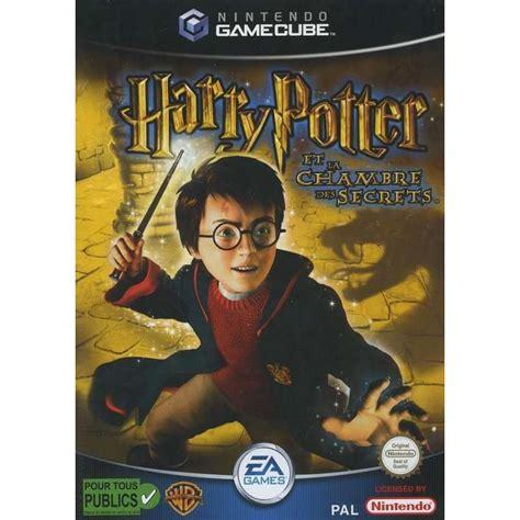 harry potter et la chambre des secrets jeu pc jeux gamecube harry potter et la chambre des secrets dispo