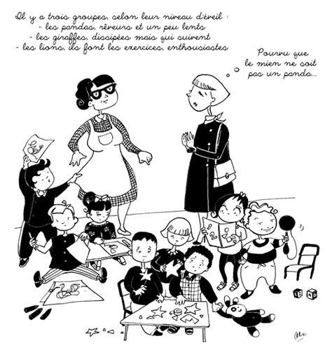 jeux fr de cuisine de illustration maman dans une crèche de laverty illustrateur animation dessin animé