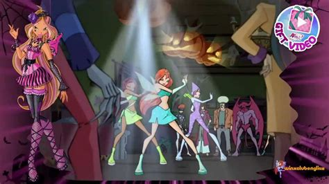 Winx Club Gift Video Halloween Hd