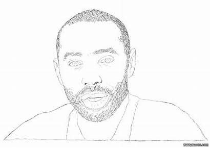 Coloriage Imprimer Celebrities Thierry Henry Dessin Coloring