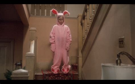 leg l from christmas story movie pic of the day he looks like a deranged easter bunny