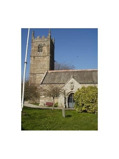Erth St Church Parish Location Cornwall History