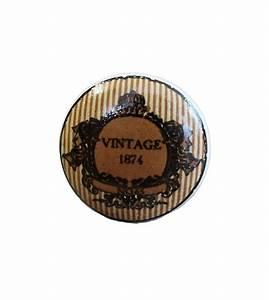 Bouton De Meuble Vintage : bouton de meuble vintage 1874 boutons ~ Melissatoandfro.com Idées de Décoration