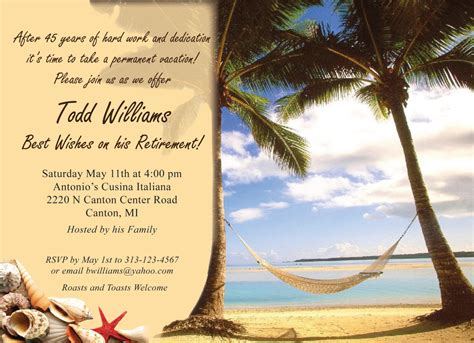 Free Templates For Retirement Invitations by Free Printable Retirement Invitations Theruntime