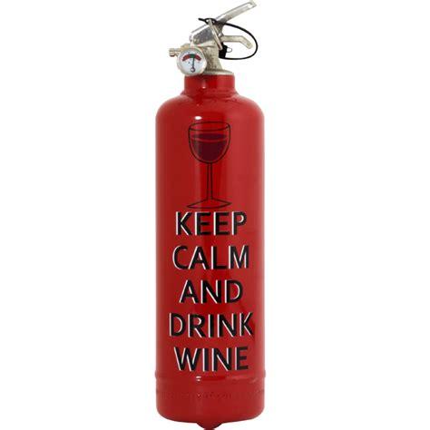 extincteur cuisine extincteur cuisine keep calm wine