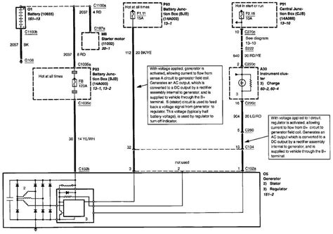 2003 Ford Escape Wiring Diagram by The 2002 Ford Escape V6 Wiring Diagram For The Charging