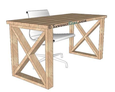 how to make desk legs x leg office desk sawdust