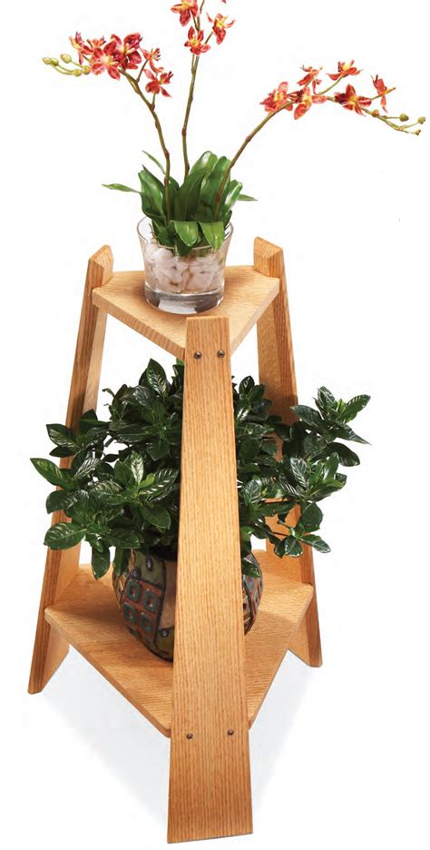 mission plant stand popular woodworking magazine
