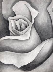 Charcoal Drawing Flowers | www.imgkid.com - The Image Kid ...