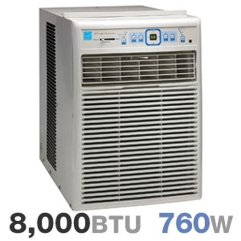frigidaire fakrv window mounted slidercasement air conditioner  btu  watts