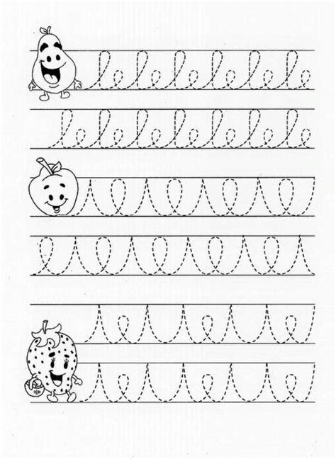 pin  mi  abc handwriting  images preschool