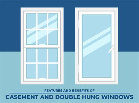 features  benefits  casement  double hung windows