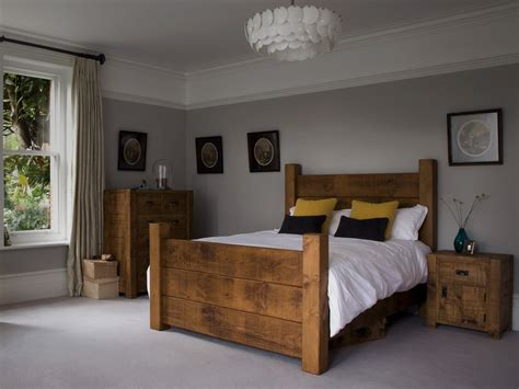 Wood Bedroom Sets Furniture  Rustic Wood Bedroom