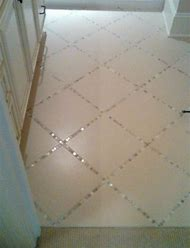 Glitter Floor Tiles Bathroom