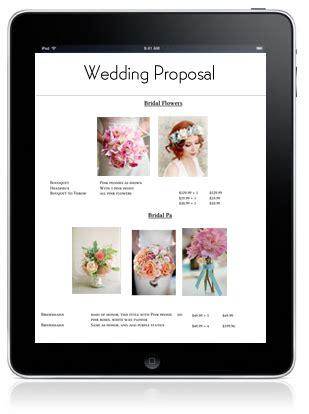 weddingevent proposal manager floranext florist