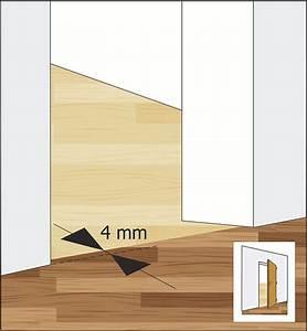 Plovoucí podlaha přechod mezi místnostmi