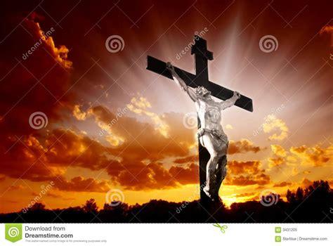 christian cross  sunrise royalty  stock photo