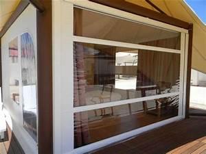 store a coulisse vertical pour chapiteaux terrasse de With rideau pour terrasse exterieur 10 bache transparente terrasse