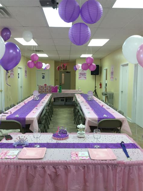 decorations for a baby shower a new princess baby shower decorations