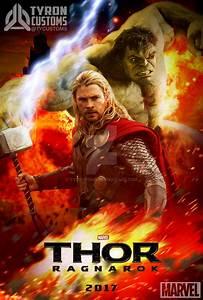 Thor Ragnarok 2017 w/HULK by tycustoms on DeviantArt