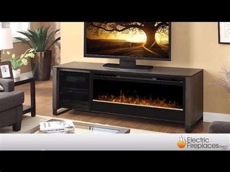 Electric Fireplace Media Center   Fireplace TV Stand   YouTube