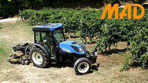 New Holland T4 110 F Bluecab4  In Vigneto