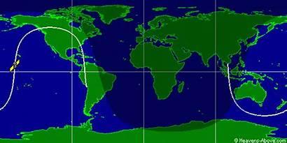 Earth Space Station International Orbit Flat Does