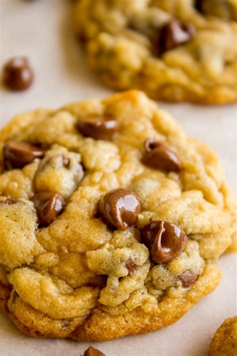minute chewy chocolate chip cookies  food charlatan