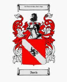 Davis Family Crest Coat of Arms Motto