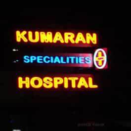 Neon sign boards in Chennai