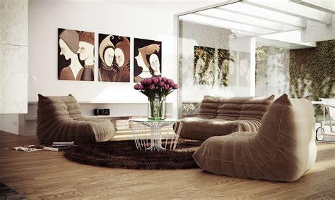 Low level seating living room   Interior Design Ideas.