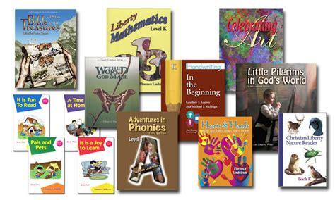 home preschool curriculum kits christian liberty press kindergarten curriculum kit 81002