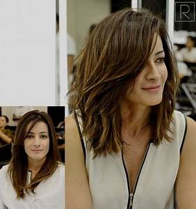 Coupe Cheveux 2018 Femme : coiffure tendance 2018 femme cheveux mi long ~ Melissatoandfro.com Idées de Décoration