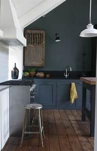 comment repeindre une cuisine idees en photos With repeindre meuble de cuisine en bois