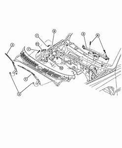 1997 Dodge Dakota Nozzle  Windshield Washer