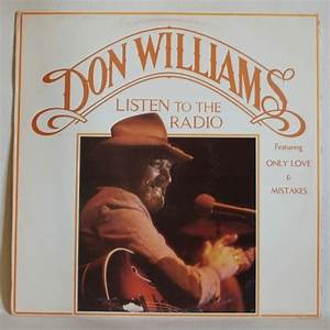 Country - Don Williams - Listen To The Radio (LP - Vinyl ...