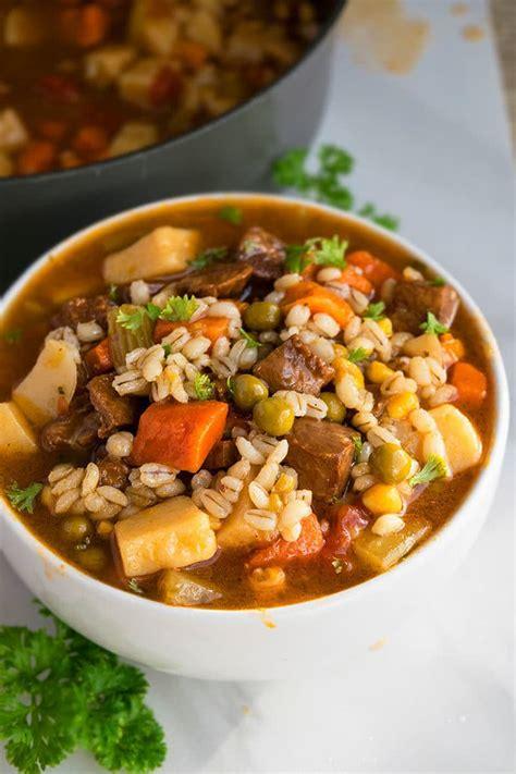 beef barley soup  pot  pot recipes
