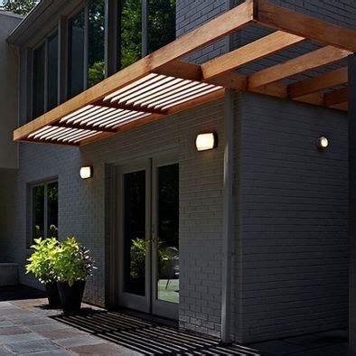 modern wood awning interiors architecture pinterest awning design   modern
