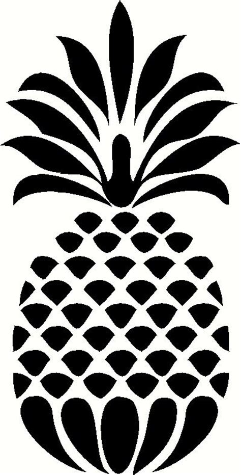 decorative pineapple wall sticker vinyl decal  wall works