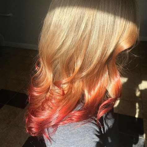 48 Looks With Reverse Ombre Hair Color Pictures 2018